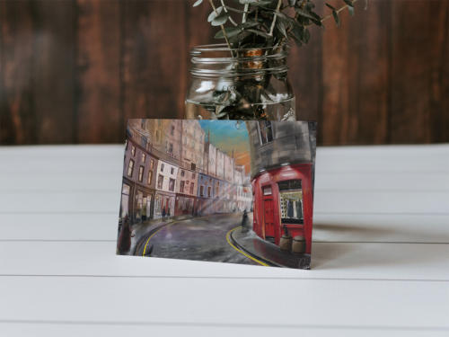 Victoria Alley Greeting Card